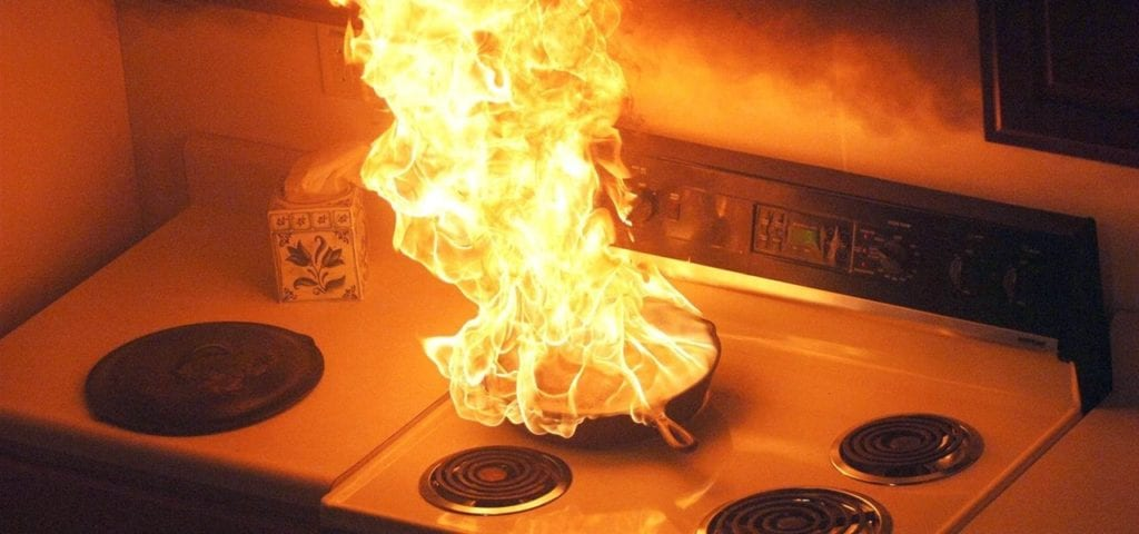 How To Put Out A Grease Fire Safely Using Household Ingredients