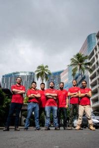 Rescue One Restoration Hawaii Team